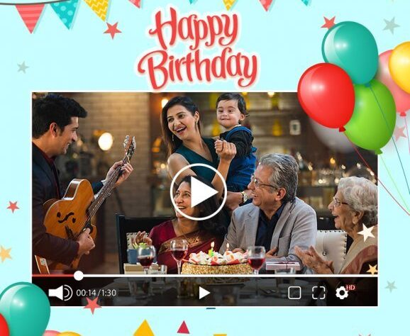Personalised Birthday Video